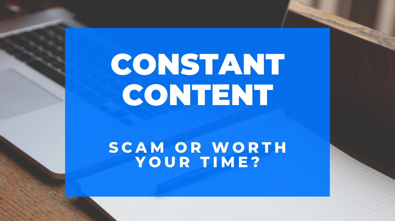 Is Constant Content a Scam