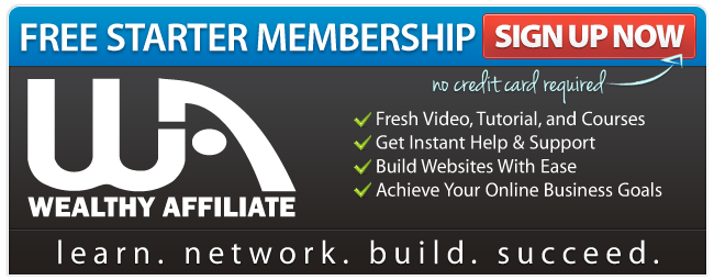 Wealthy Affiliate Free Membership