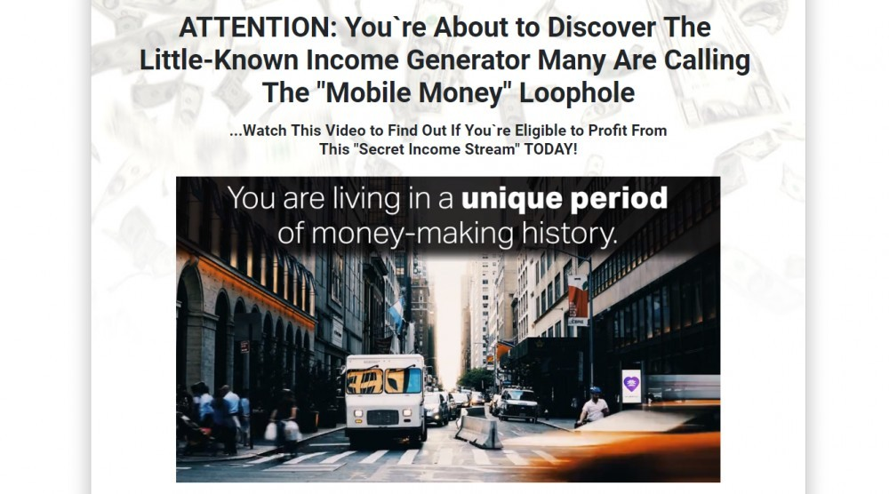 Mobile Money Loophole scam