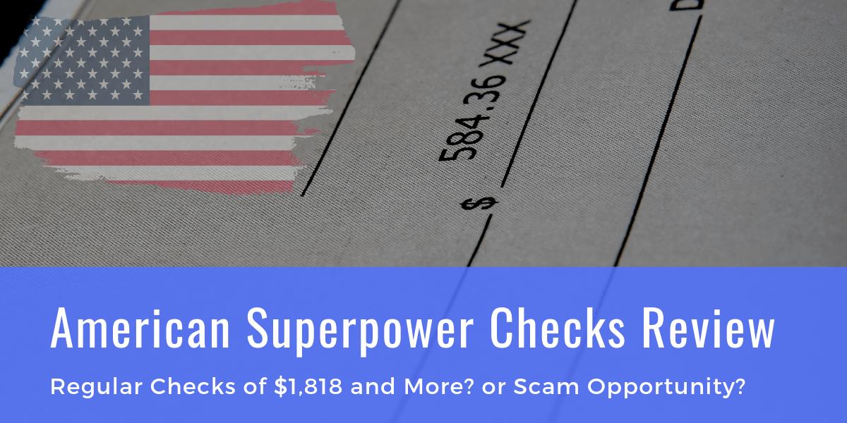 American Superpower Checks Scam
