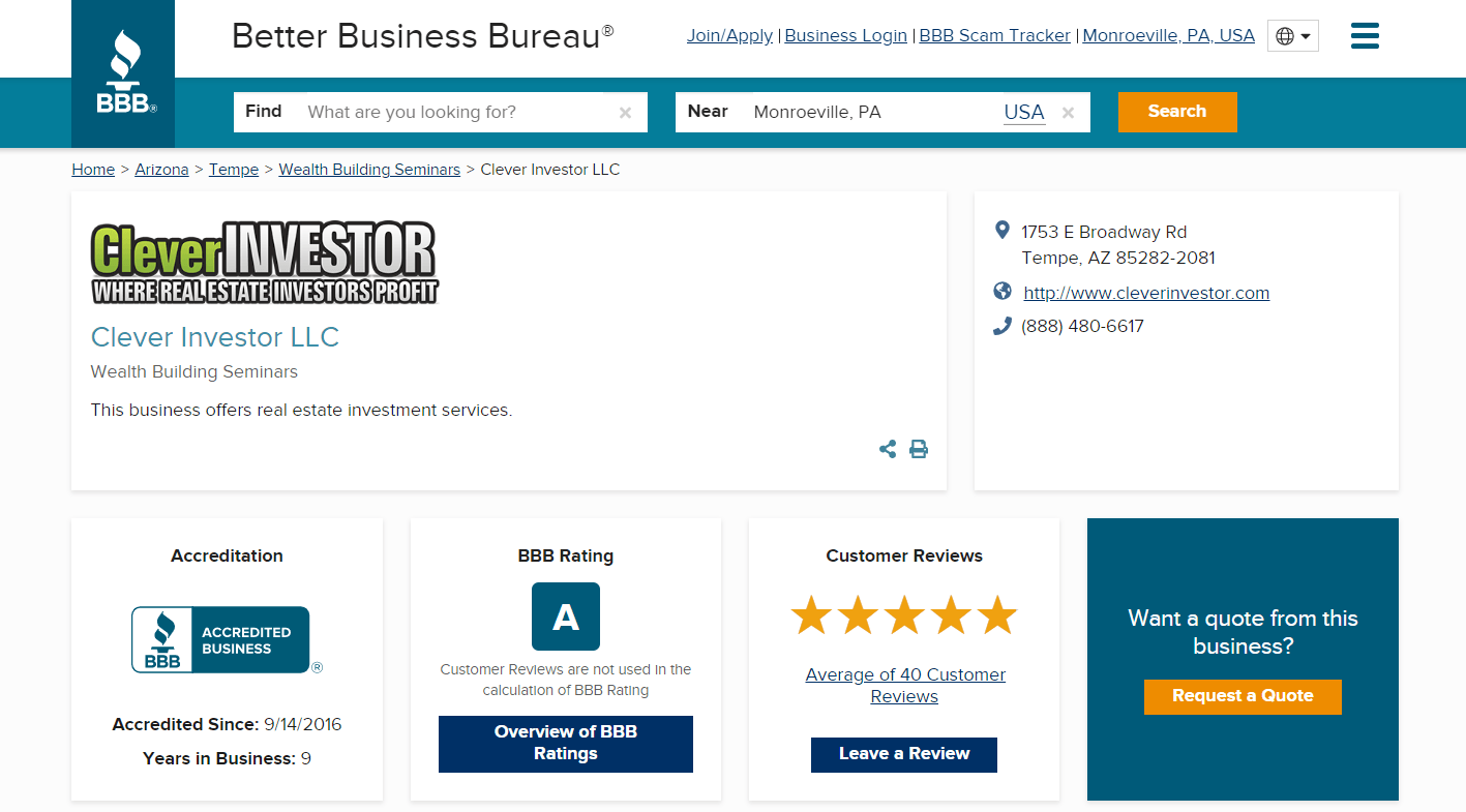 Clever Investor BBB