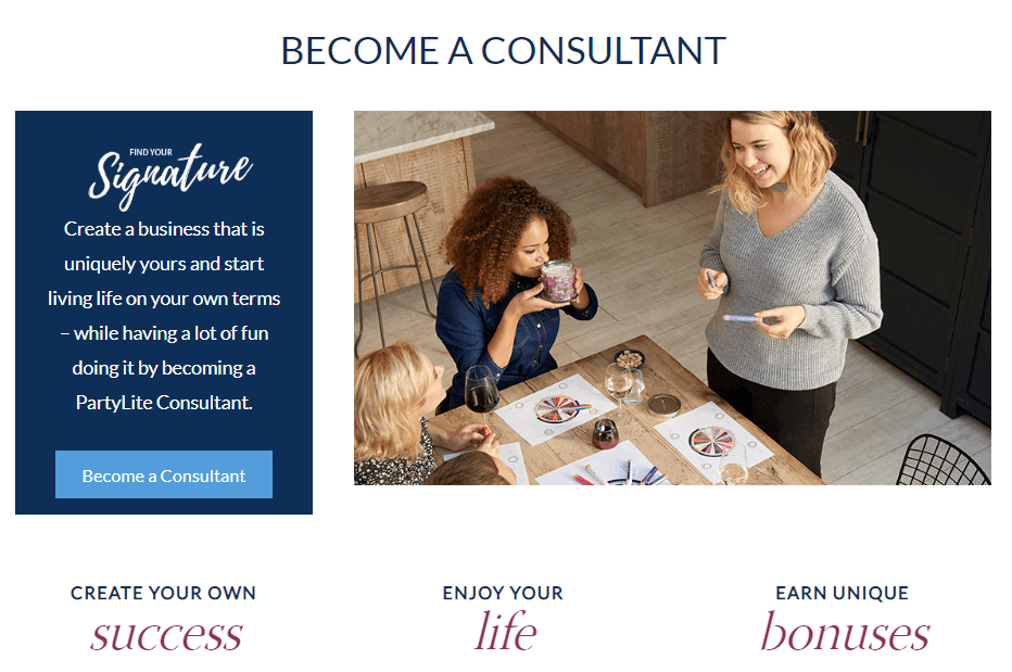 Become a PartyLite Consultant