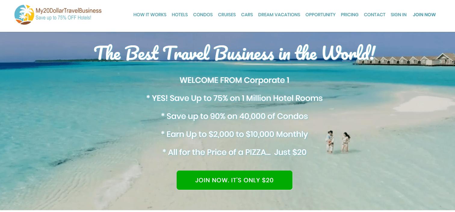 My 20 Dollar Travel Business