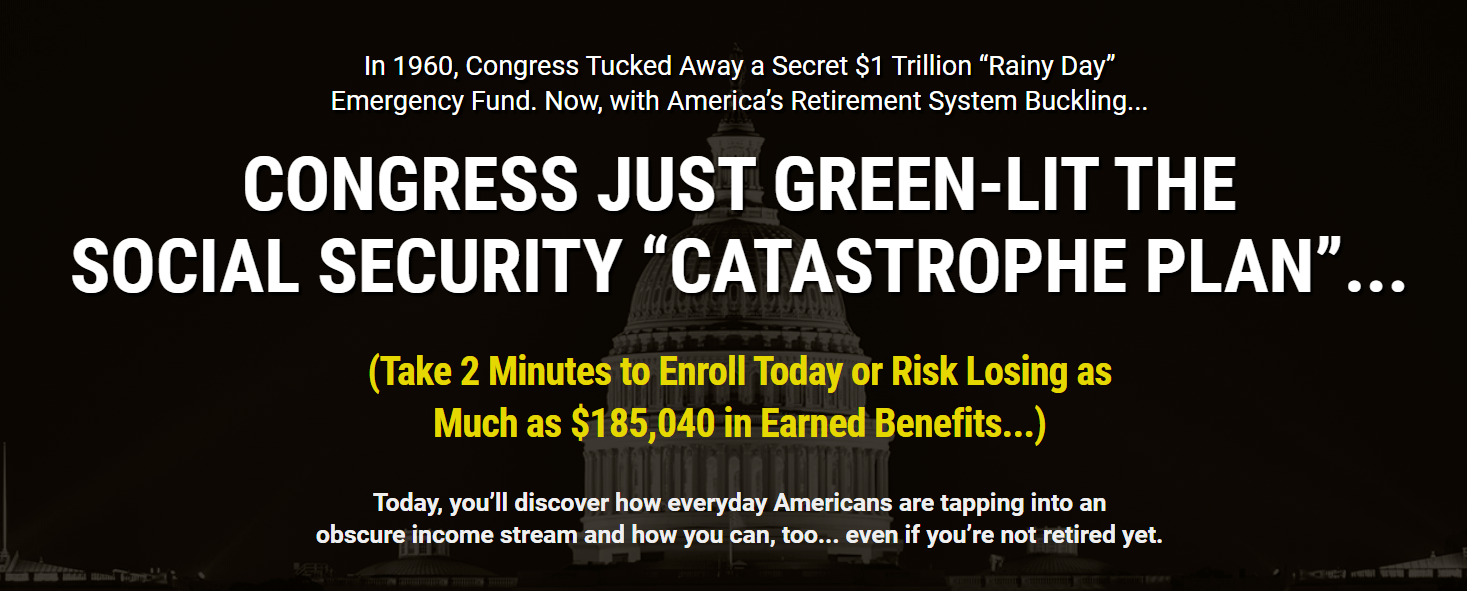 Social Security Catastrophe Plan