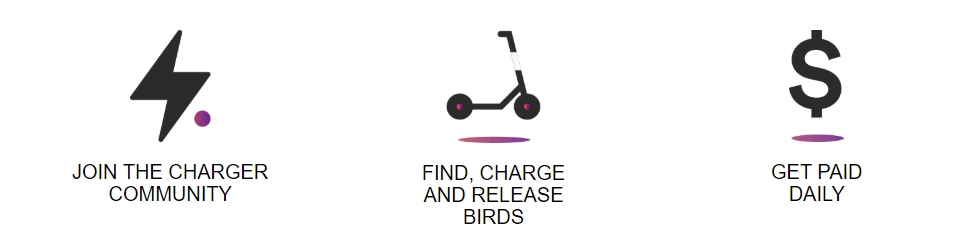 how charging for Bird works