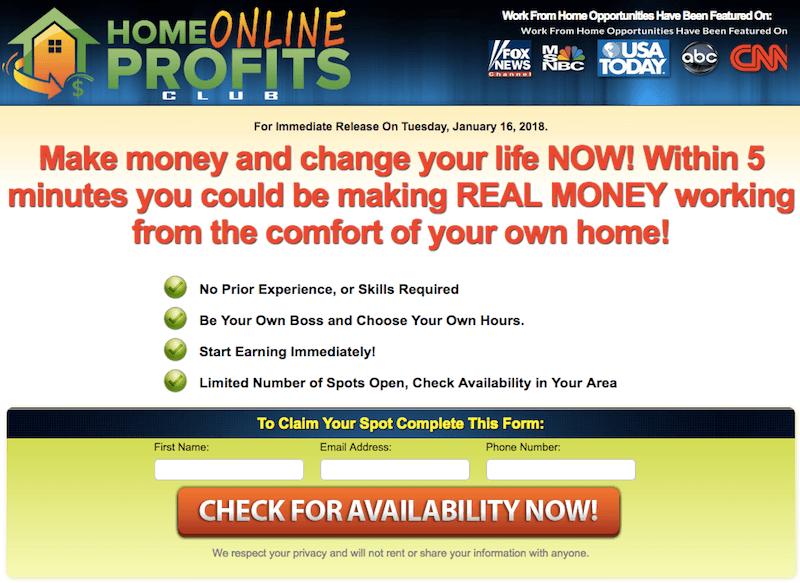 link posting scam