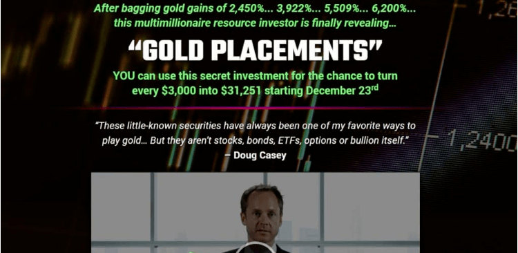 Gold Placements E.B. Tucker