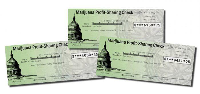 Marijuana Profit-Sharing Checks