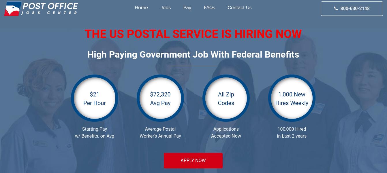 Post Office Jobs Center