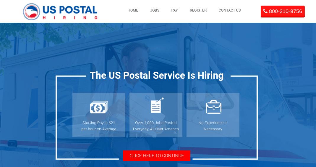 US Postal Hiring
