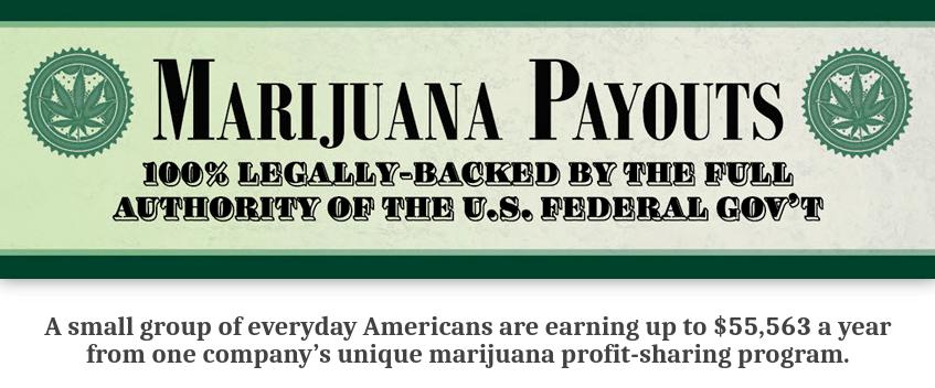 marijuana payouts