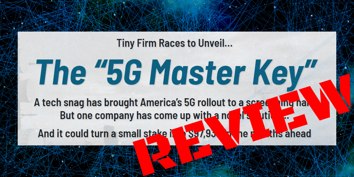 5G Master Key stock review