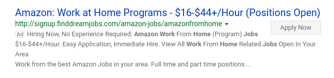 Find Dream Jobs Ad