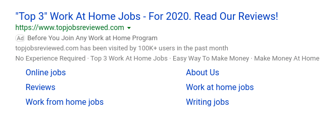 Top Jobs Reviewed Ad
