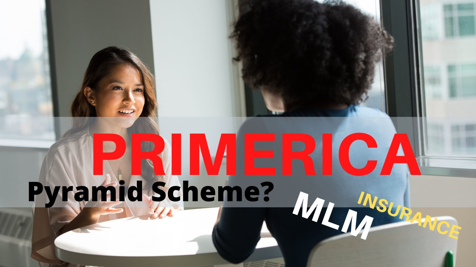 is primerica a pyramid scheme