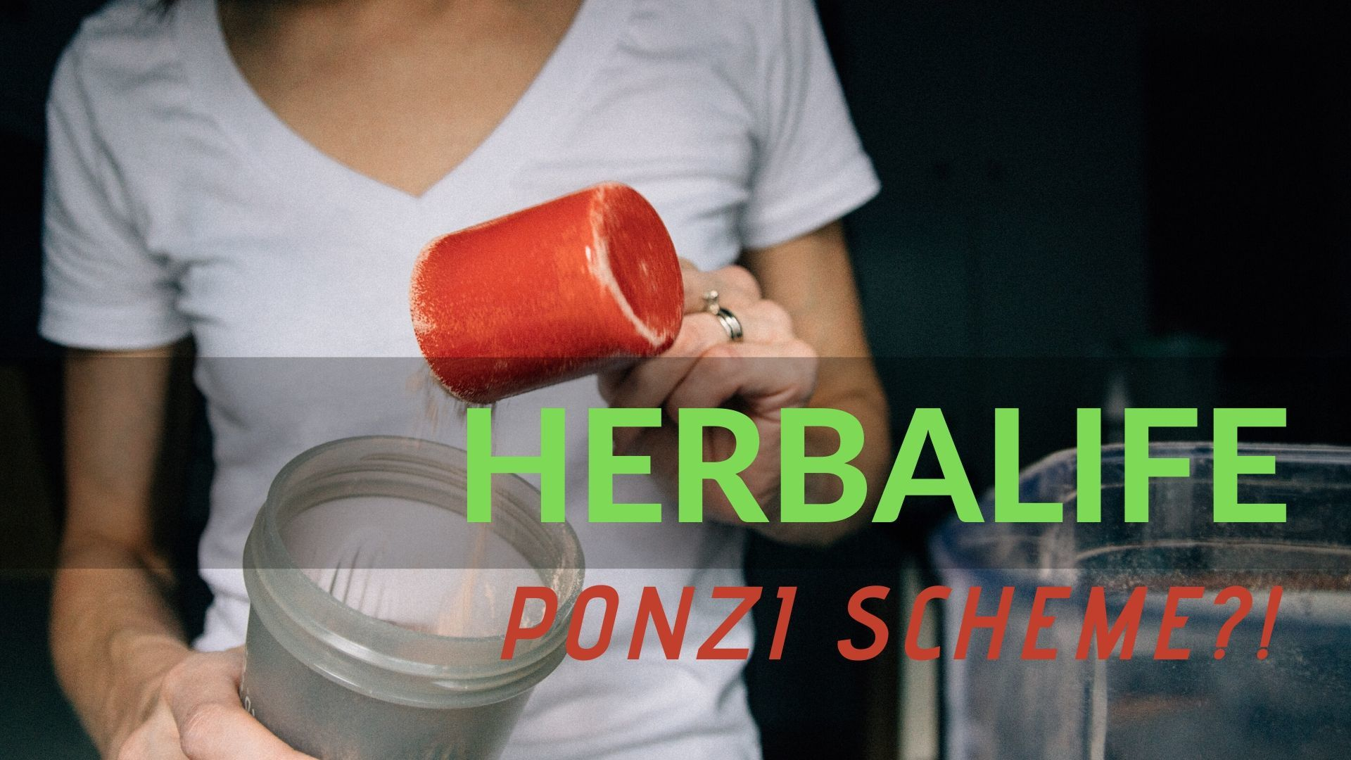 is herbalife a ponzi scheme