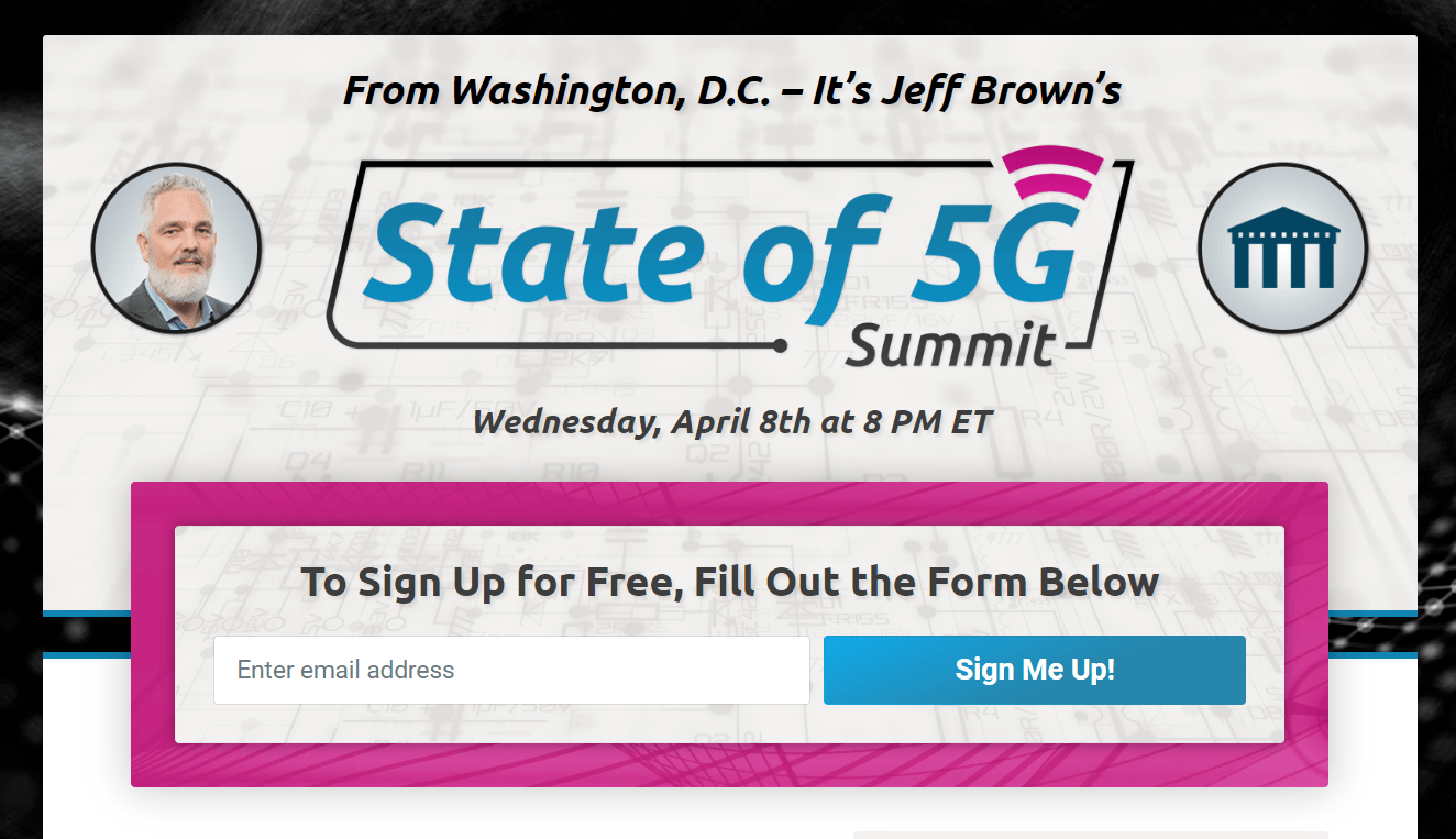 Jeff Brown State of 5G Summit