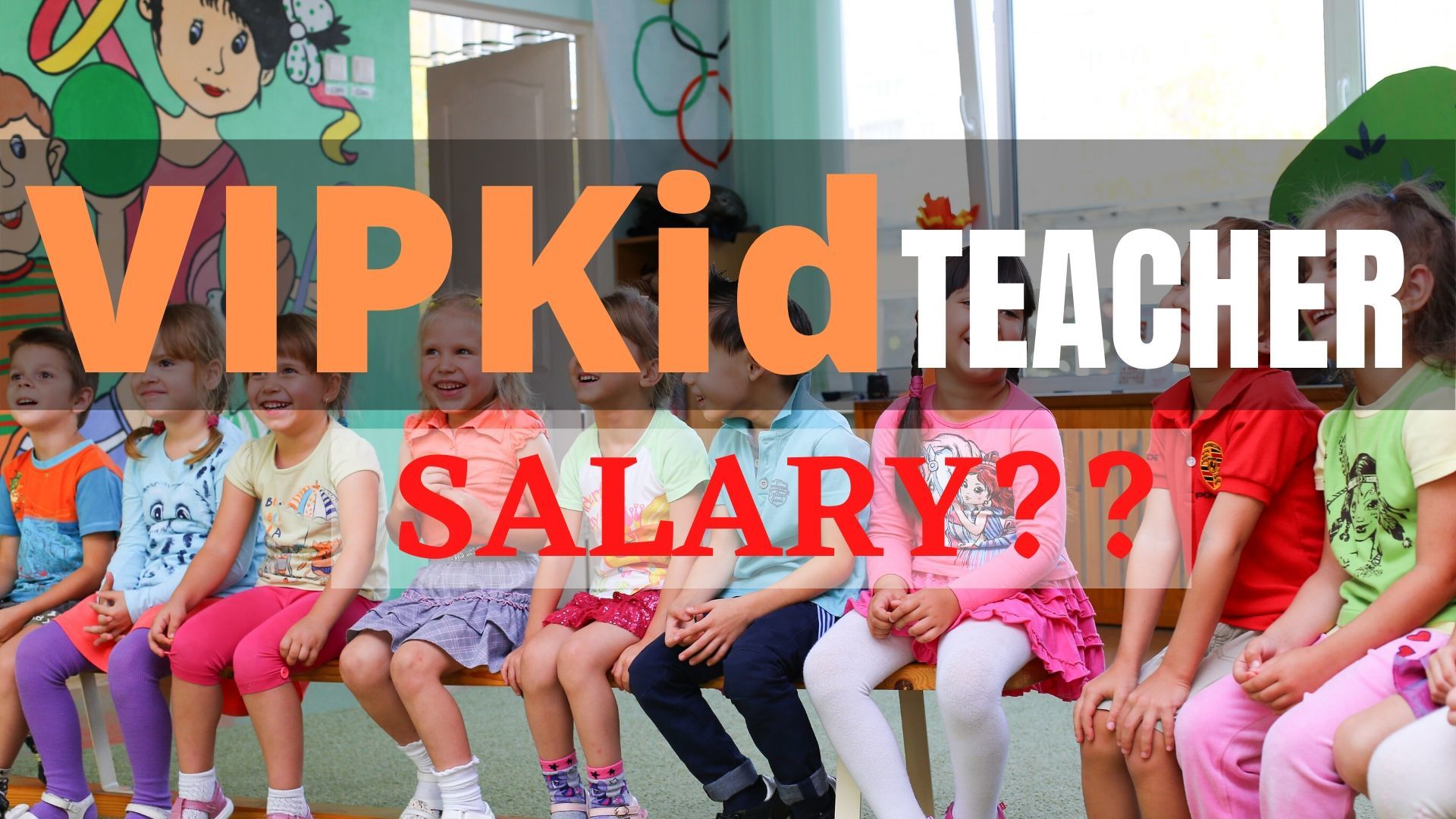 VIPKid teacher salary