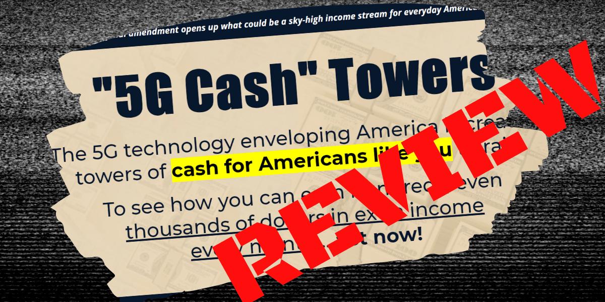 Zach Scheidt 5G Cash Towers Review